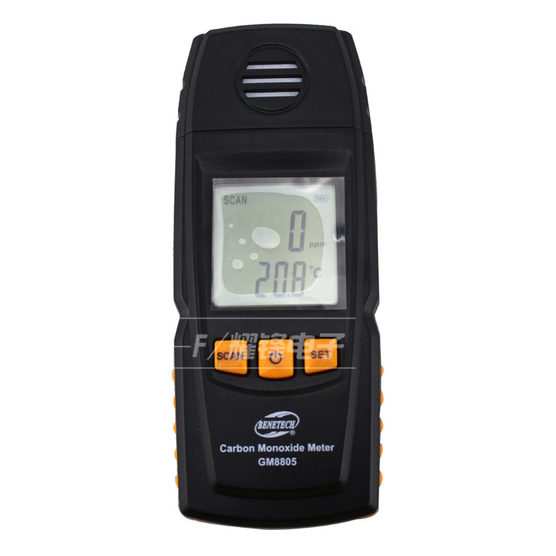 Gas detector gas analyzer Carbon Monoxide Meter CO Detector CO monitor exhaust analyzer air quality monitor CO meter 0-1000ppm gm8802 carbon gas detector handheld co2 monitor tester carbon dioxide detector temperature humidity test 3 in1 co2 meter