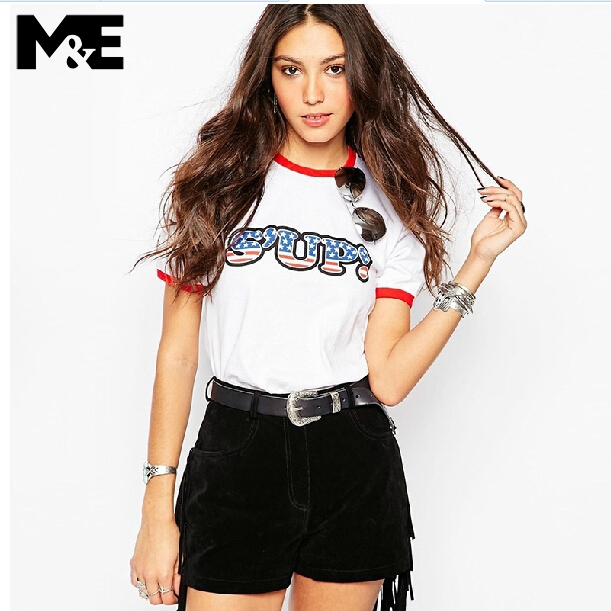 tee girls Picture - More Detailed Picture about White t shirt cool ...
