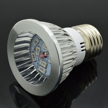 GU10 10W 6Red:4Blue SMD LED Grow Light Lamp for Flowering Plant and Hydroponics System 85-265V Free Shipping image