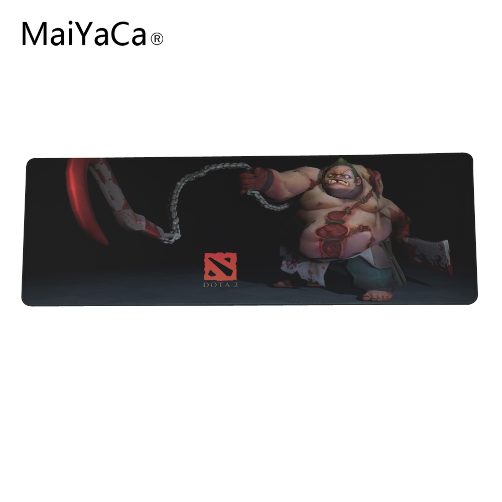 Games Theme Dota 2 Mouse Pad 300 * 900 * 2mm Or 300 * 600 * 2mm Gaming Mouse Pad PC Laptop Computer Gaming Mice Play Mat