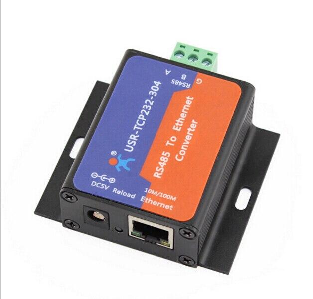 2 Pcs USR TCP232 304 Seriële RS485 TCP/IP Ethernet Server Converter Module met Ingebouwde Webpagina RJ45 poort Ondersteuning DHCP/DNS-in Netwerk Hulpmiddelen van Computer & Kantoor op AliExpress - 11.11_Dubbel 11Vrijgezellendag 1