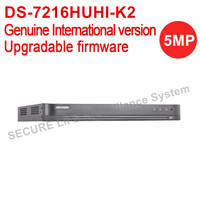 International Version DS 7216HUHI K2 Turbo HD DVR 16ch With 2 Sata Ports Self Adaptive HDTVI