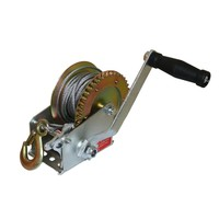 1 pcs Hand winch machine Manual hoister Small crane winch with wire rope Construction Tool Parts