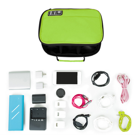 Mihawk Waterproof Cable Digital Bags Travel Portable USB Gadget Organize Charger Wires Zipper Pouch Tablet Pc Stuff Gear Supply Multan