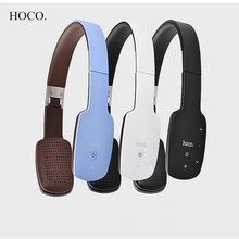 HOCO W4 Touchable Bluetooth V4.1 Wireless Headband Headphones Stereo Bass Earphone with MIC Audio External for phone Computer