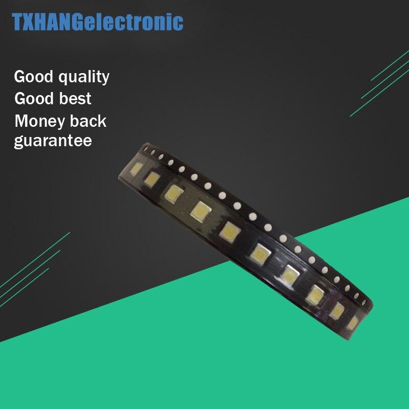 50 шт./лот для LG SMD <font><b>LED</b></font> <font><b>3535</b></font> 6 В холодный белый Чип-2 2 Вт для ТВ/ЖК-дисплей подсветка ТВ Применение