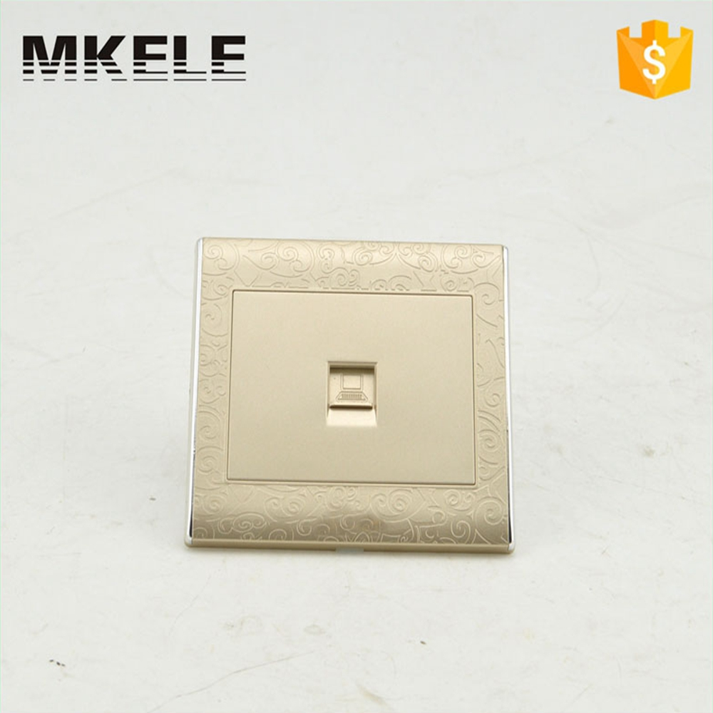 Best Price MK WS05023 Ultrathin Universal Light Switches And Sockets  Electrical Wall Computer PC Outlet Switch -in Switches from Home  Improvement on ...