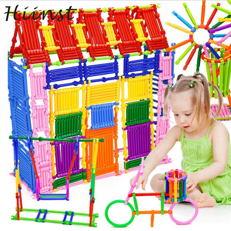 250PCS Intelligence Stick Figures House Toys Hot Sale Mathematical Box Baby Preschool Drop Shipping Gift 18mar15