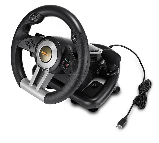 все цены на PXN V3II Racing Game Steering Wheel with Foldable Pedal Compatible with PC PS3 PS4 Xbox One 7 Powerful Suction Cups
