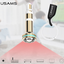 Smart IR Remote Control 3.5mm Jack Dust Plug TV Air Conditioner Projector IR Controller Universal for iPhone iOS