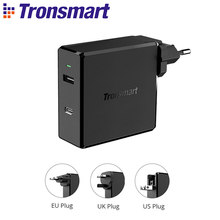 Tronsmart WCP03 USB-C 充電器急速充電急速充電器 57 ワット PD のための充電器は、高速 iphone, xiaomi, サムスン、 huawei(China)