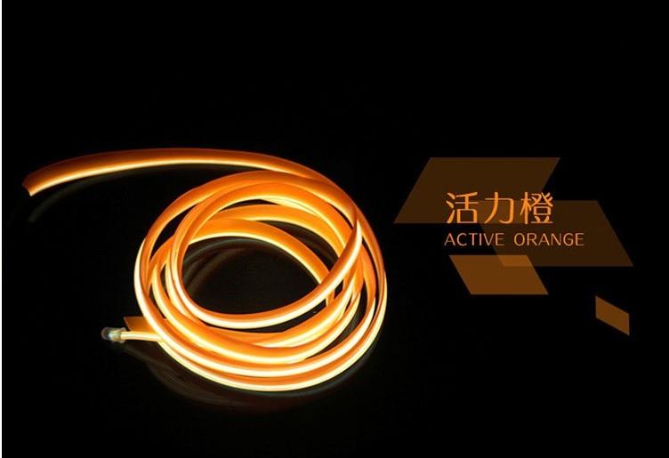 Car styling Flexible LED Neon Lights for lexus IS200 IS250 RX300 RX330 GX470 GS300 CT ES IS GS LS LX TX GX NX SC accessories