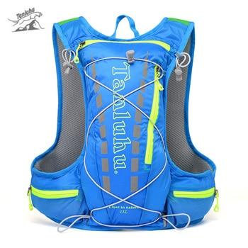 6ab0003cd2f6 Tanluhu 15L гидратации рюкзак Бег открытый спортивный жилет Trail Бег сумка  Восхождение бег Рюкзак Пеший Туризм Велоспорт рюкзак