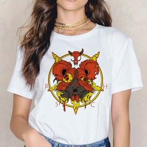 Футболка сатана, футболка для женщин, футболка для женщин