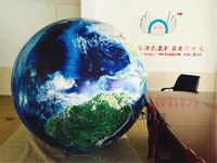 Inflatable Ball 2m Customized Globe Balloons World Map Printed Giant Ball Classic Inflatable Toys With Factory Price
