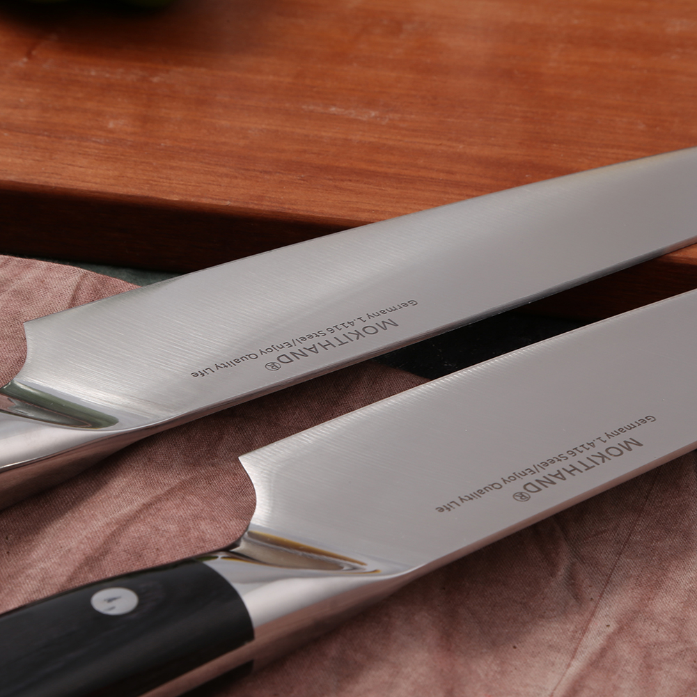 German Lifetime Quality High Carbon Steel Master Chef Knives 4