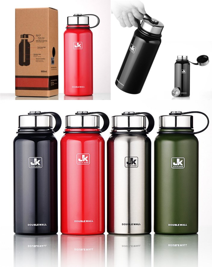 new thermos bottle vacuum flask water bottles stainless steel thermocup coffee thermos outdoor. Black Bedroom Furniture Sets. Home Design Ideas