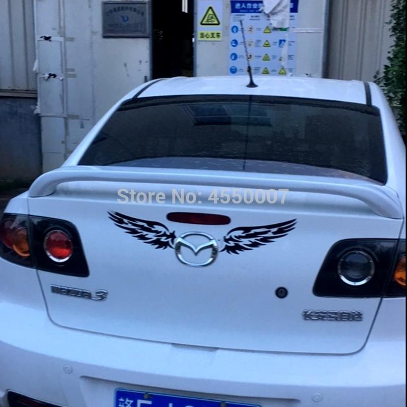 High Quality ABS Material Primer Color Car Rear Wing Spoiler For Mazda 3 Mazda3 2006 2007 2008 2009 2010 2011 2012 2013