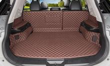 Car Travel Brand special trunk mats for NIssan X-trail T32 2017 durable waterproof boot carpets for XTRAIL 2016-2014 best quality special trunk mats waterproof durable leather carpets for toyota highlander 2014 2015 2016 2017