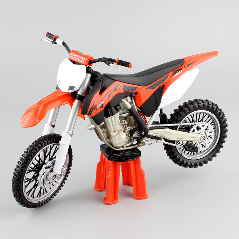 1:12 Scale Automaxx KTM 450 SX-F SXF 2013 Supercross Racing Motocross Enduro Motorcycle Diecast Model Moto Dirt Bike Toy Replica