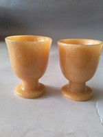 Exquisite Chinese jades goblet beautiful natural Yellow color handmade Wine cup free shipping