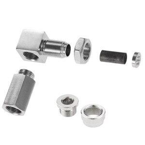 Image 2 - Yetaha CEL Eliminator Check Engine Licht Mini Katalysator Bung Und Stecker Für Die Meisten M18 X 1,5 Gewinde Sensor Spacer