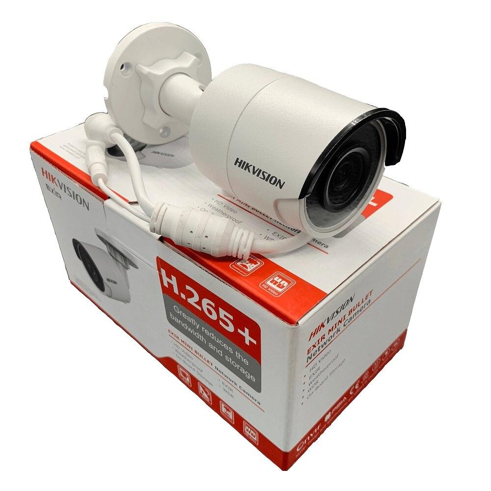 HIKVISION 8MP IP Caméra DS-2CD2085FWD-I Réseau Bullet Caméra H.265 Haute Résolution CCTV Caméra avec Fente Pour Carte SD IP67