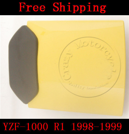 For Yamaha YZF 1000 R1 1998-1999 motorbike seat cover Motorcycle Yellow fairing rear sear cowl cover Free Shipping for yamaha yzf 600 r6 2006 2007 motorbike seat cover high quality motorcycle black fairing rear sear cowl cover