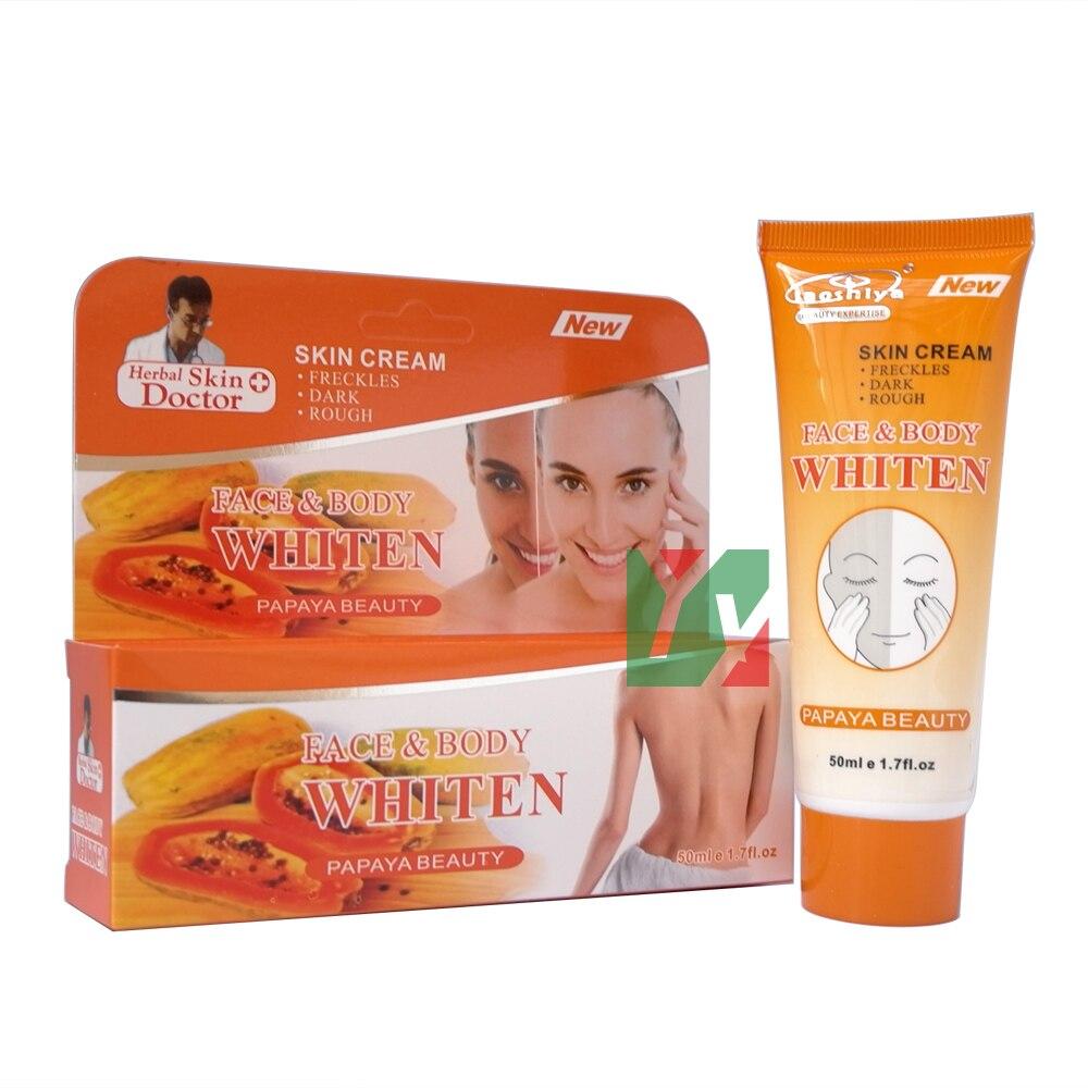 Laoshiya face & body whitening cream for freckles dark rough skin