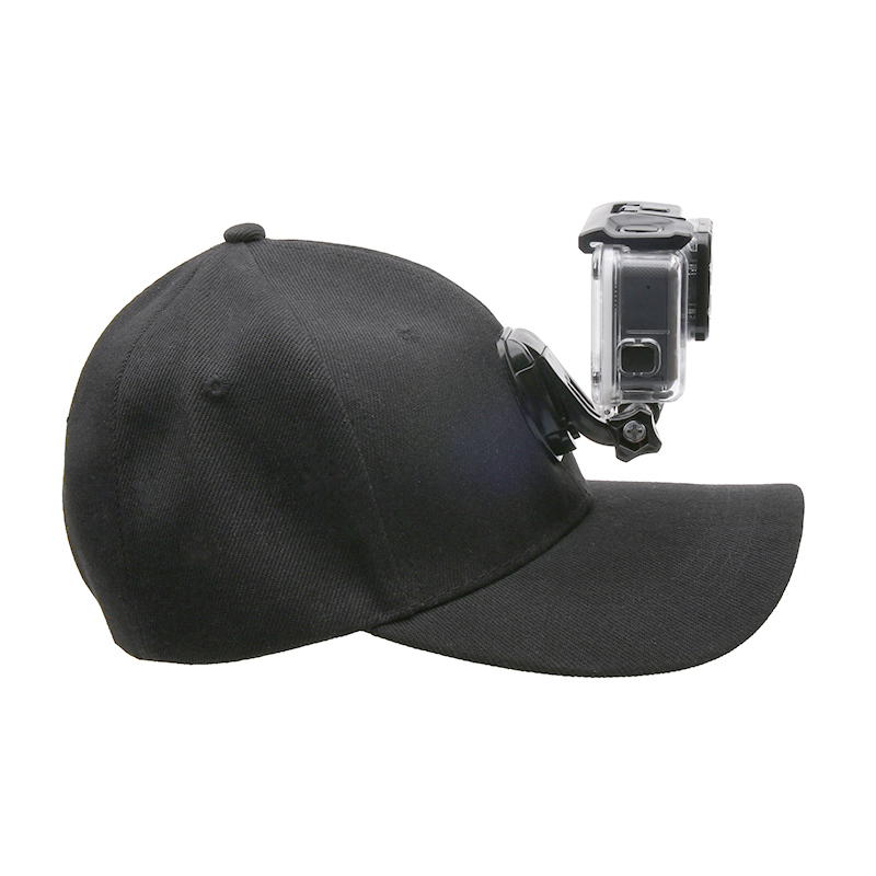 Xiaoyi and Other Action Cameras Reliable DJI New Action Color : Black Baseball Hat with J-Hook Buckle Mount /& Screw for GoPro HERO7 //6//5 //5 Session //4 Session //4//3+ //3//2 //1