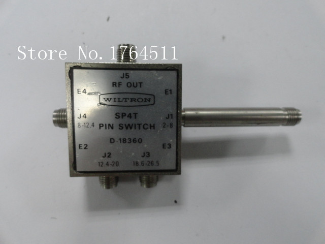 [BELLA] The Supply Of WILTRON D-18360 Single Pole Four Throw RF - 2-26.5GHz 2.92MM Conductor