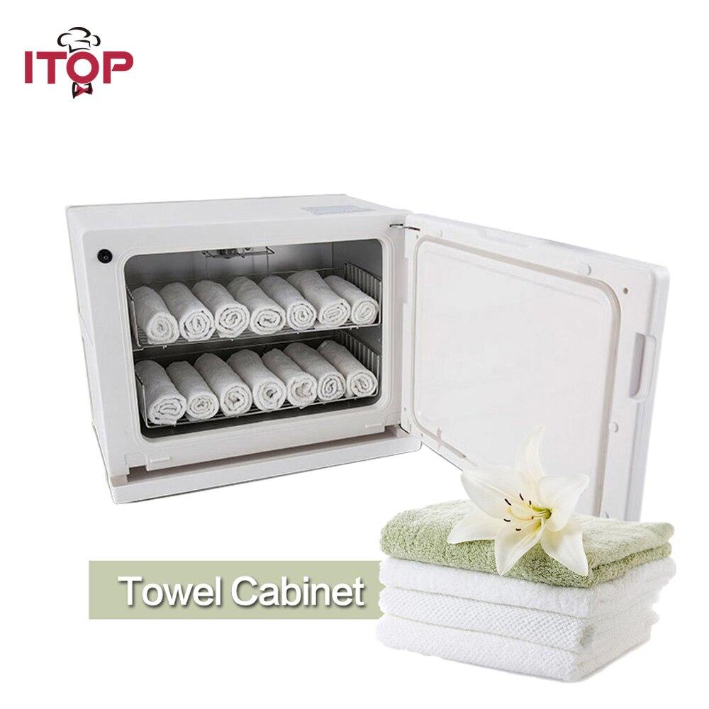 ITOP Scaldasalviette Asciugamano Strorage luce UV di Sterilizzazione Armadio 8L/18L Disinfezione Armadi per Hotel, Ristorante, uso domestico
