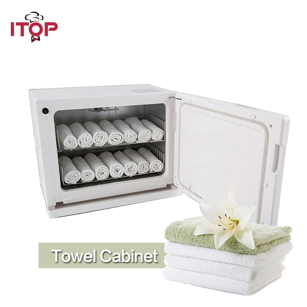 ITOP Towel Warmer Towel Strorage UV light Sterilization Cabinet 8L 18L Disinfecting Cabinets for Hotel Restaurant