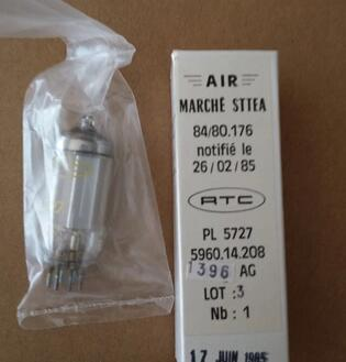 цена 1PCS/LOT HIFI DIY tube RTC 5727 2D21 ZQ3 0.1/1.3 The French в интернет-магазинах