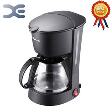 Ücretsiz Kargo Ev Aletleri Kahve Makinesi 220 V espresso Yüksek Kaliteli 0.6L