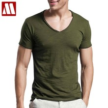 3541b19c Mens Fitness T Shirts Summer tops Tees Stretch Fitted HipHop Men's t shirt  Cotton short sleeve T-shirts Man big size UP to 6XL