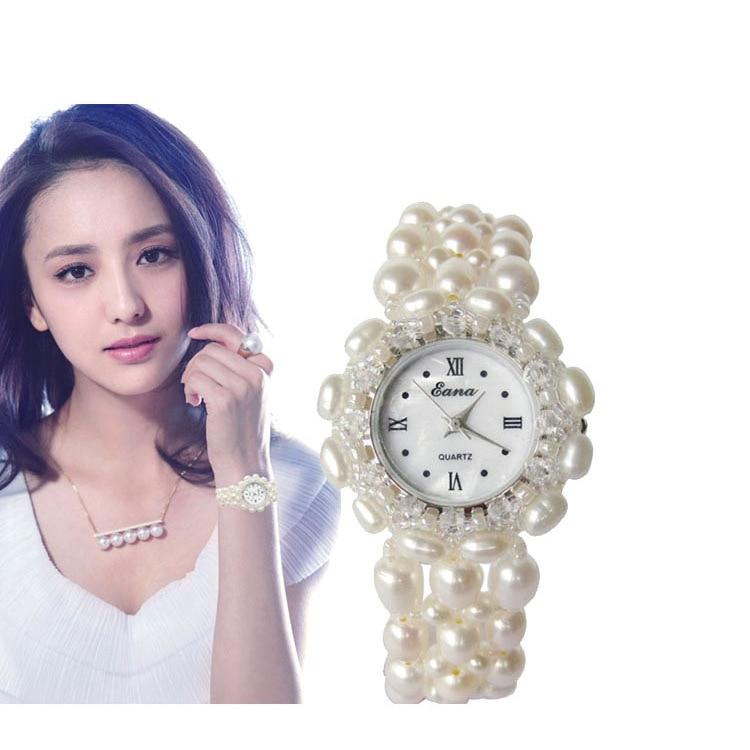 2019 haut à la mode offre spéciale dames montre montres blanc perle femelle Table cadeau pratique en gros A entreprend
