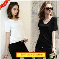 Plus Size Women Tops Tees Shirt 2017 Summer Women Casual Cotton T Shirt Xxxxl Roupas Femininas