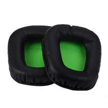 Top Quality Replacement Cushion Ear Pads For Razer Electra Gaming Pc Music Headphones Big Earphone Accessories Feb13