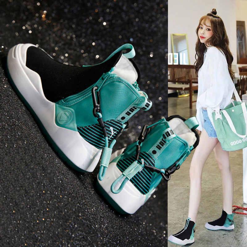 CAMTOO/Женская обувь модная Вулканизированная кроссовки на массивном каблуке