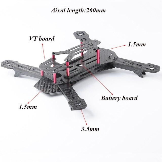 Aliexpress.com : Buy QAV260 QAV250 Frame New design 260mm Carbon ...