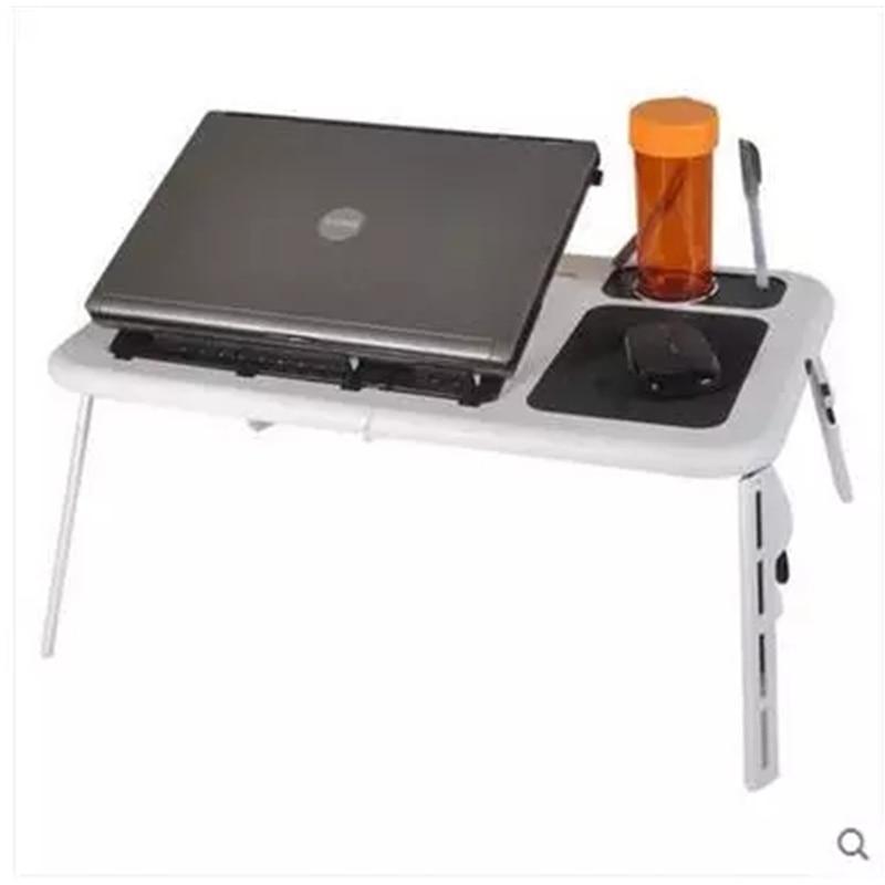 Adjustable Portable Folding Laptop Table Stand Lap Sofa