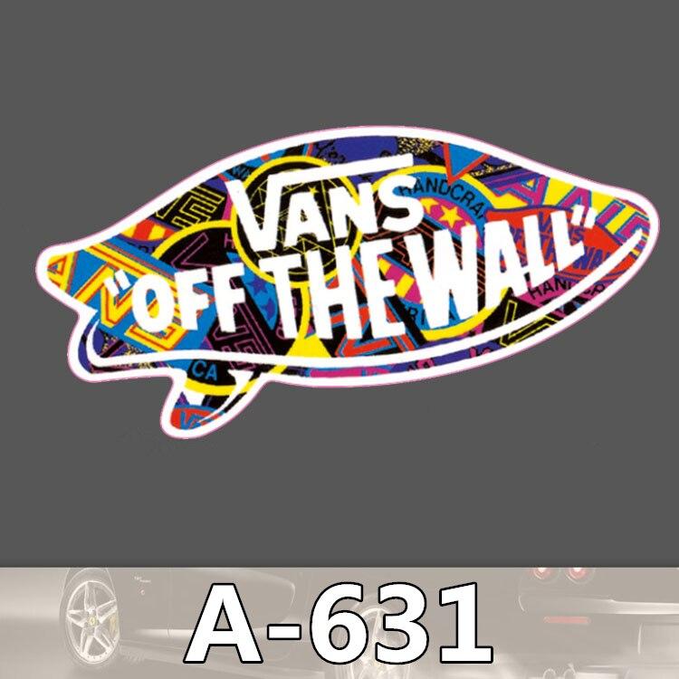 A 631 Vans Shoes Waterproof Cool DIY Stickers For Laptop Luggage Fridge Skateboard Car Graffiti Cartoon