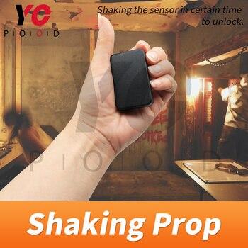 Shaking prop YOPOOD sala de escape Puzzle Real life Just shake the sensor en ciertos momentos para desbloquear takagism sala de juegos