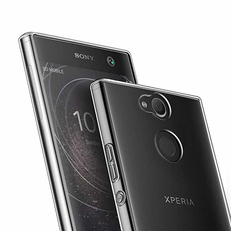 רך פגוש מקרה טלפון כיסוי עבור sony Xperia XA2 Ultra XA1 בתוספת 10 XA X XZ3 1 Xperia XZ2 XZ1 קומפקטי M5 L1 L2 L3 Z5 XZ פרימיום