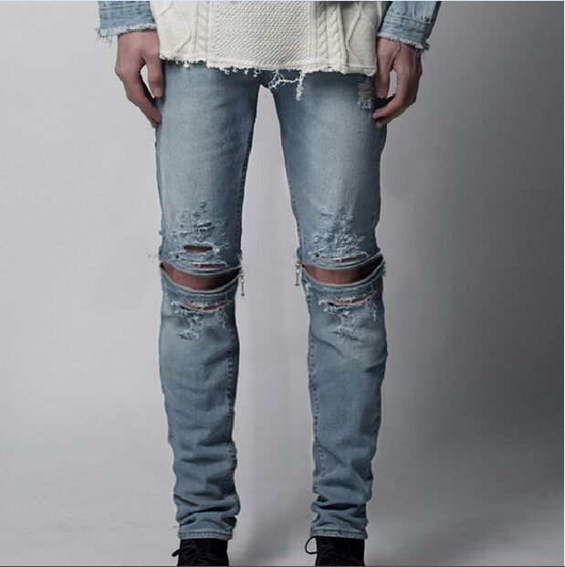 Cheap Distressed Jeans - Xtellar Jeans
