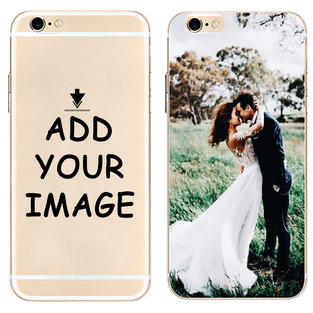 Custom Personalized Make your Photo pattern images Hard Phone Case Cover For iPhone 6 6S 7 8 Plus 5S 5C 4S X XS XR XSMax Coque