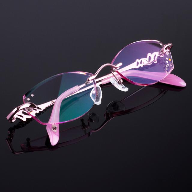 Eyewell Z5828 máquina da Borda de Corte de Diamante de Alta Qualidade Óculos de Leitura Sem Aro Óptico