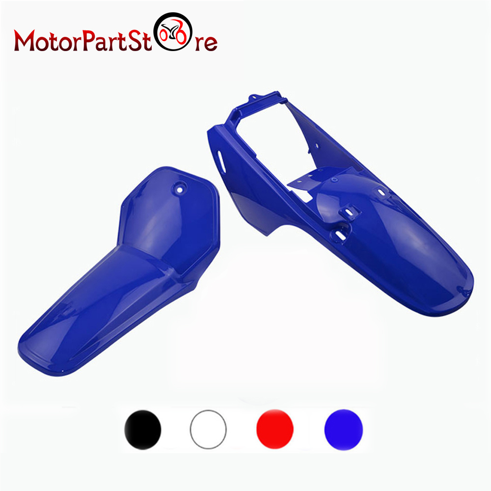 Front/Rear Plastic Body Fender Shell Cover Fairing Kit for Yamaha PW80 PY80 PW PY 80 PEEWEE Dirt Pit Bike Motorcycle Accessories front plastic number plate fender cover fairing for honda crf100 crf80 crf70 xr100 xr80 xr70 style dirt pit bike