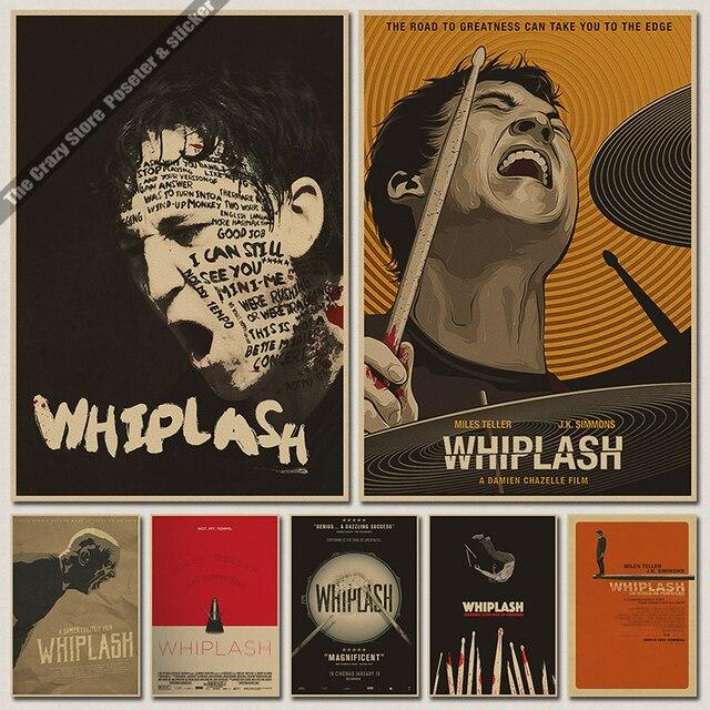 Whiplash Oscar vintage Poster retro kraft paper posters